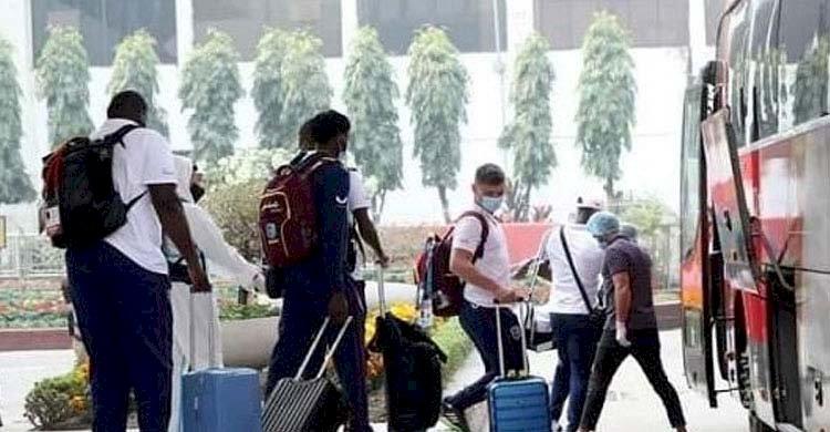 শ্রীলঙ্কান ক্রিকেট দল ঢাকায়