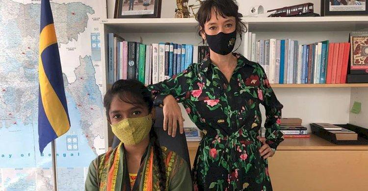 আন্তর্জাতিক কন্যাশিশু দিবসে সুইডিশ রাষ্ট্রদূত হলেন বাংলাদেশি কন্যা রুনা